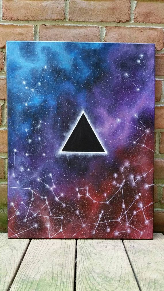 Galaxy painting acrylic images for How to paint a simple picture on canvas