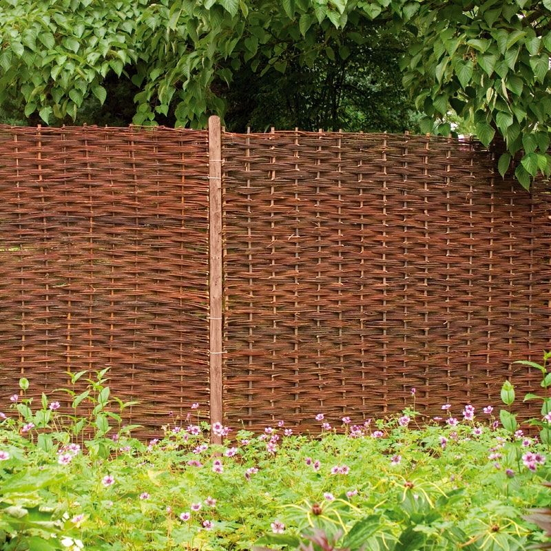 removable willow fence panels Golf Club Pinterest Willow