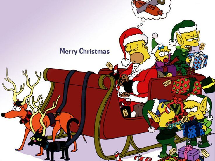 Simpsons Christmas Boogie.Image Result For Christmas Background Merry Christmas