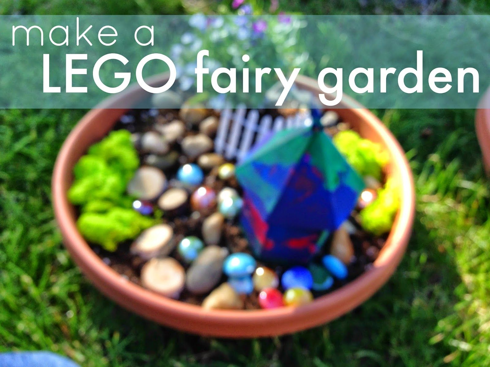 Garden Ideas For Kids To Make easy lego fairy garden for kids | gardens and garden club