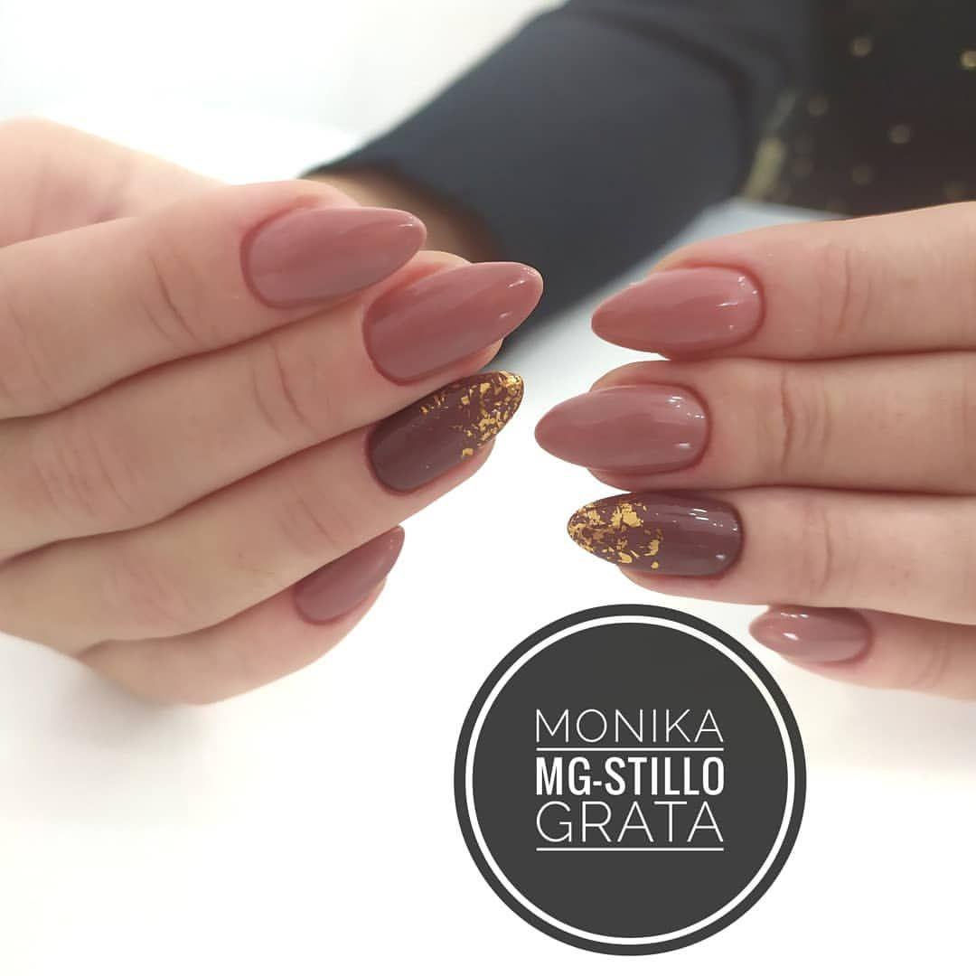 Monika Grata Na Instagramie Jesienne Paznikcierzeszow Paznokcie Jesiennepaznokcie Pazurki Manicured Manilove Manicure Stylizacja Nails Beauty