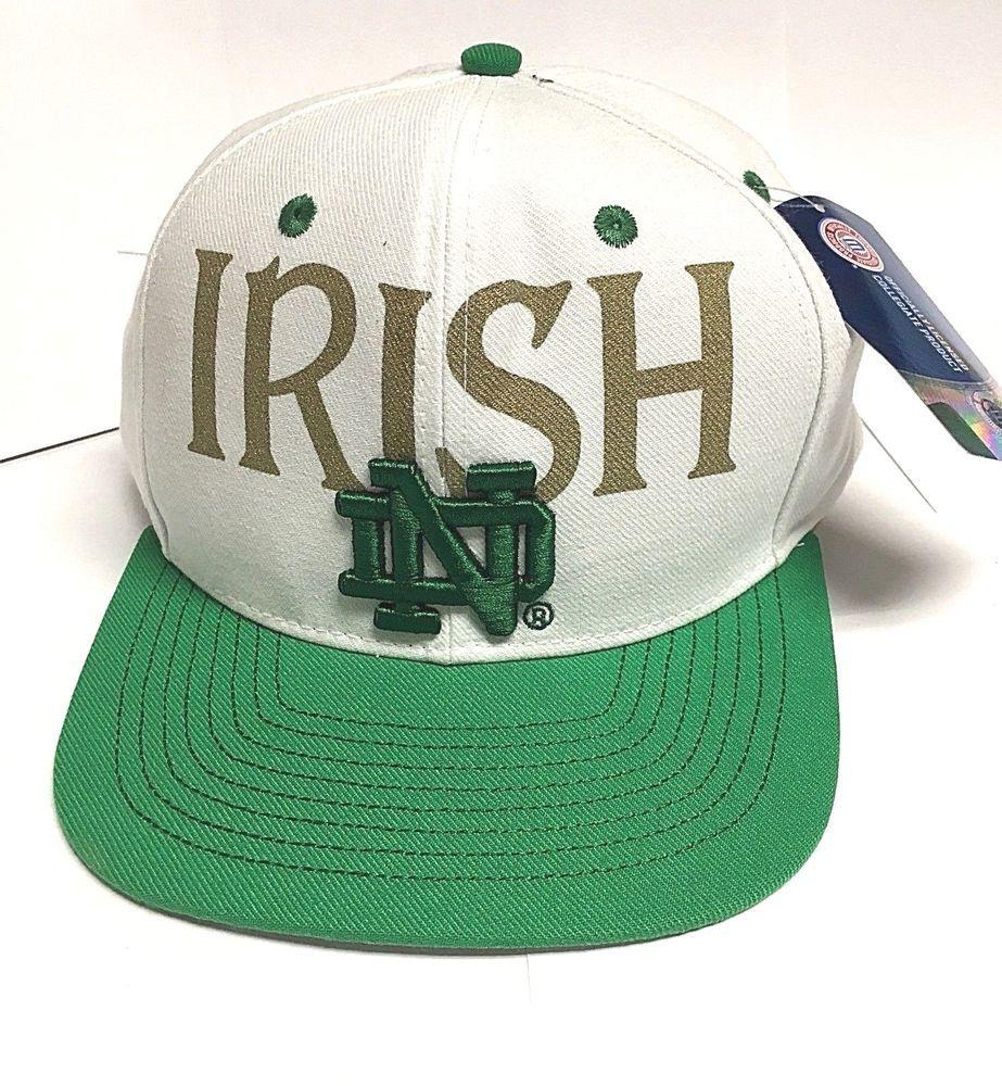 Adidas IRISH Notre Dame ND Baseball Hat Cap NWT  adidas   NotreDameFightingIrish d2430fa3b15f