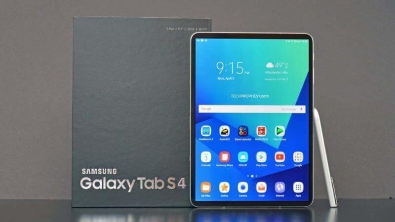 الجهاز اللوحي Galaxy Tab S4 يحصل على شهادة الواي فاي Samsung Galaxy Samsung Galaxy Tab Galaxy