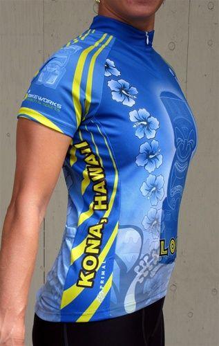 Hawaiian Cycling Jersey | Bike Works Online Store