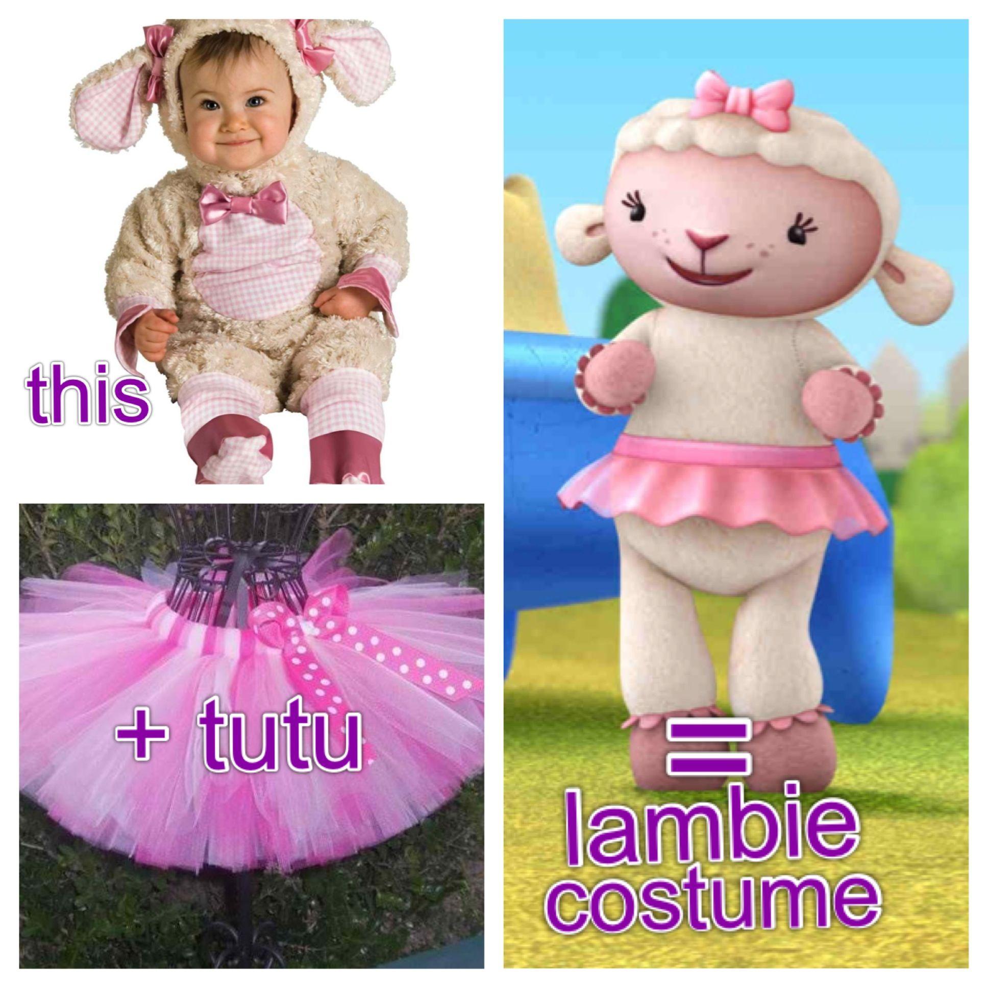 Lambie costume { doc mcstuffins } | Halloween | Pinterest