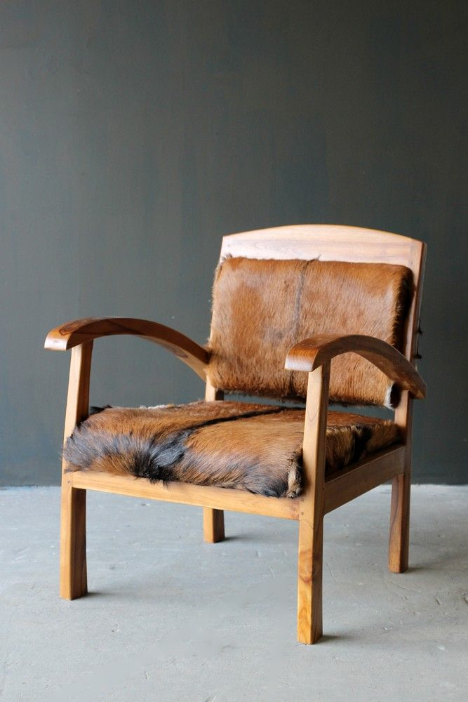 Goathide Teak Armchair 8h With Images Teak Armchair Armchair Stylish Furniture
