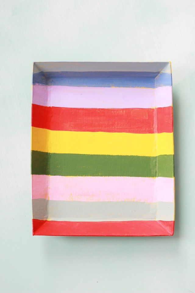 Painted paper trays - The House That Lars Built