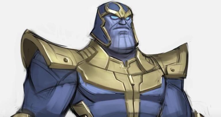 Disney Infinity Thanos Concept Art Revealed Disney Disney