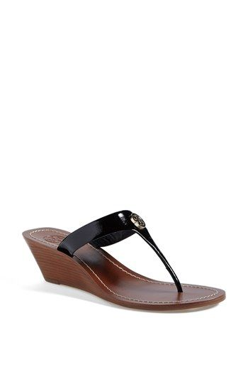65b6c014eb94 Tory Burch  Cameron  Wedge Sandal (Online Only) available at  Nordstrom