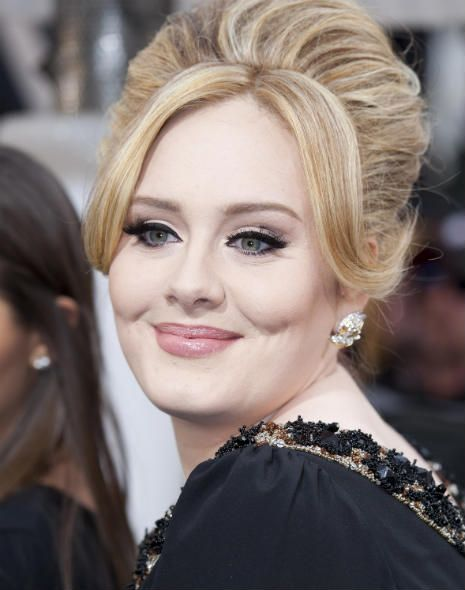 Classic Beauty on the Red Carpet: Adele