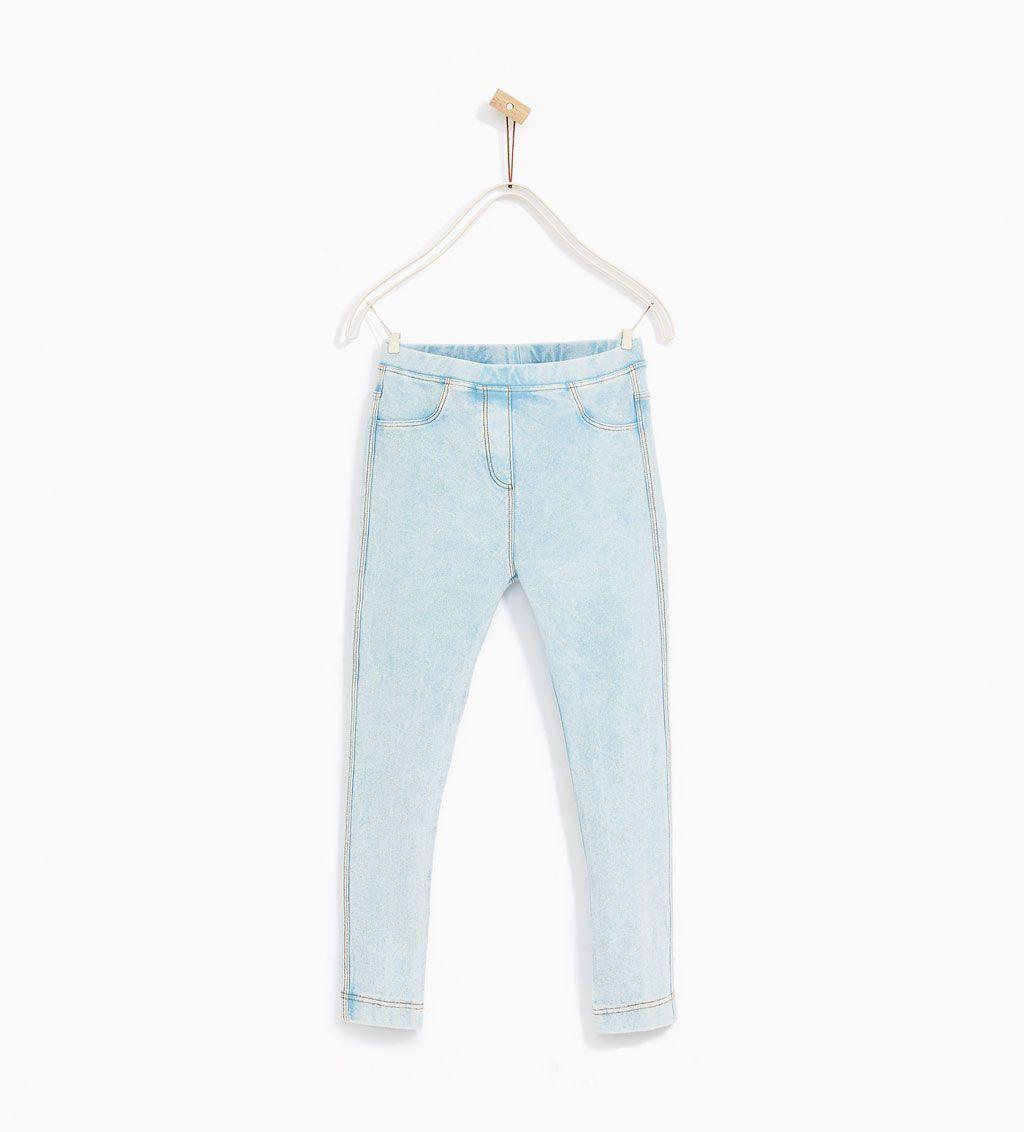 pantalone de zara girls baqueros