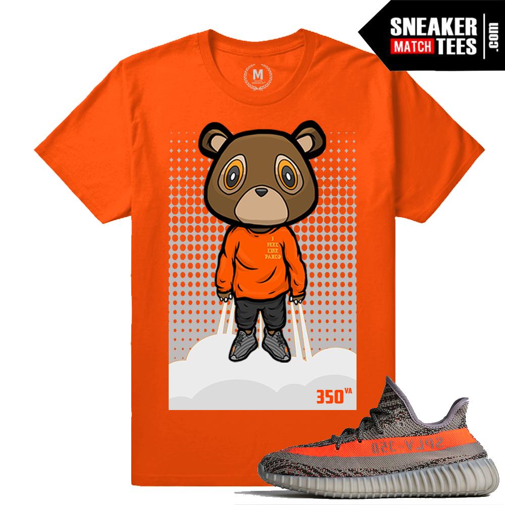 Yeezy Bear shirt Match Yeezy Boost 350 Beluga | Sneaker Match Tees