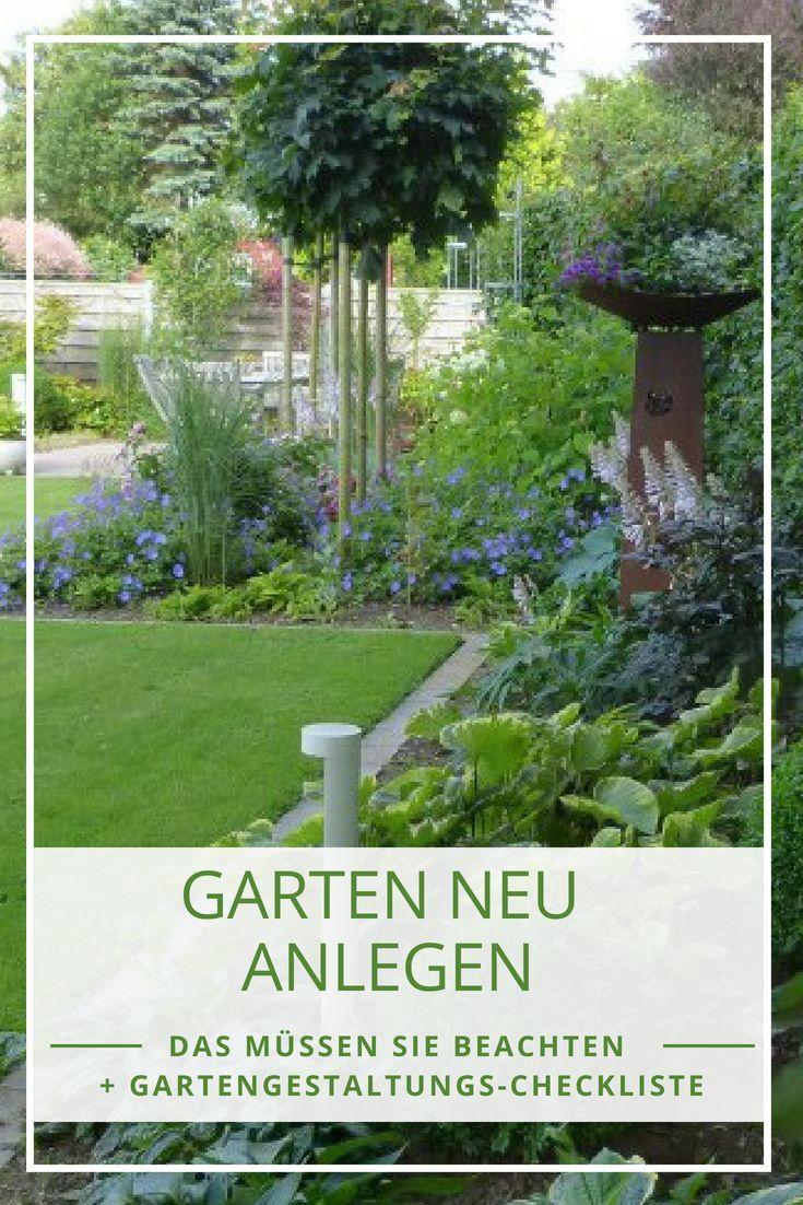 Garten anlegen aber wie? So planen Sie Ihren Garten richtig #vorgartenanlegen