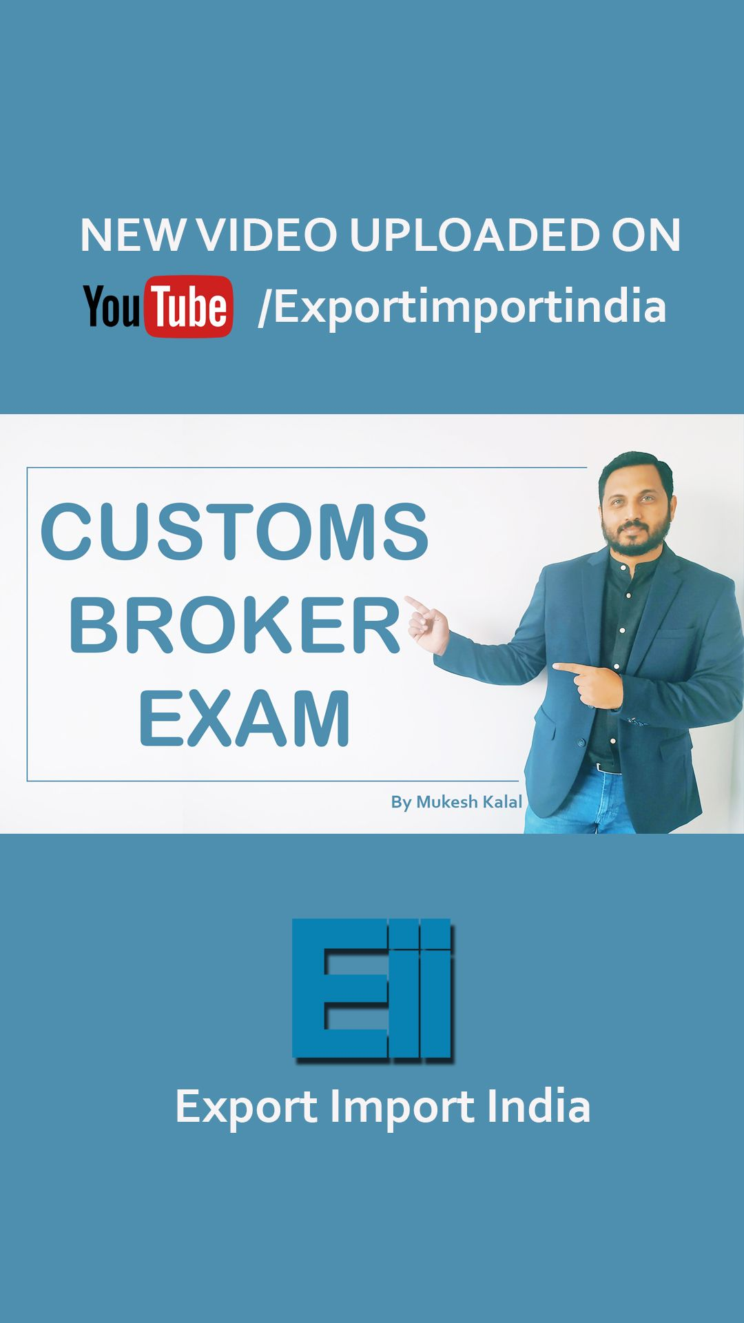 In this video you will learn all about Customs broker exam