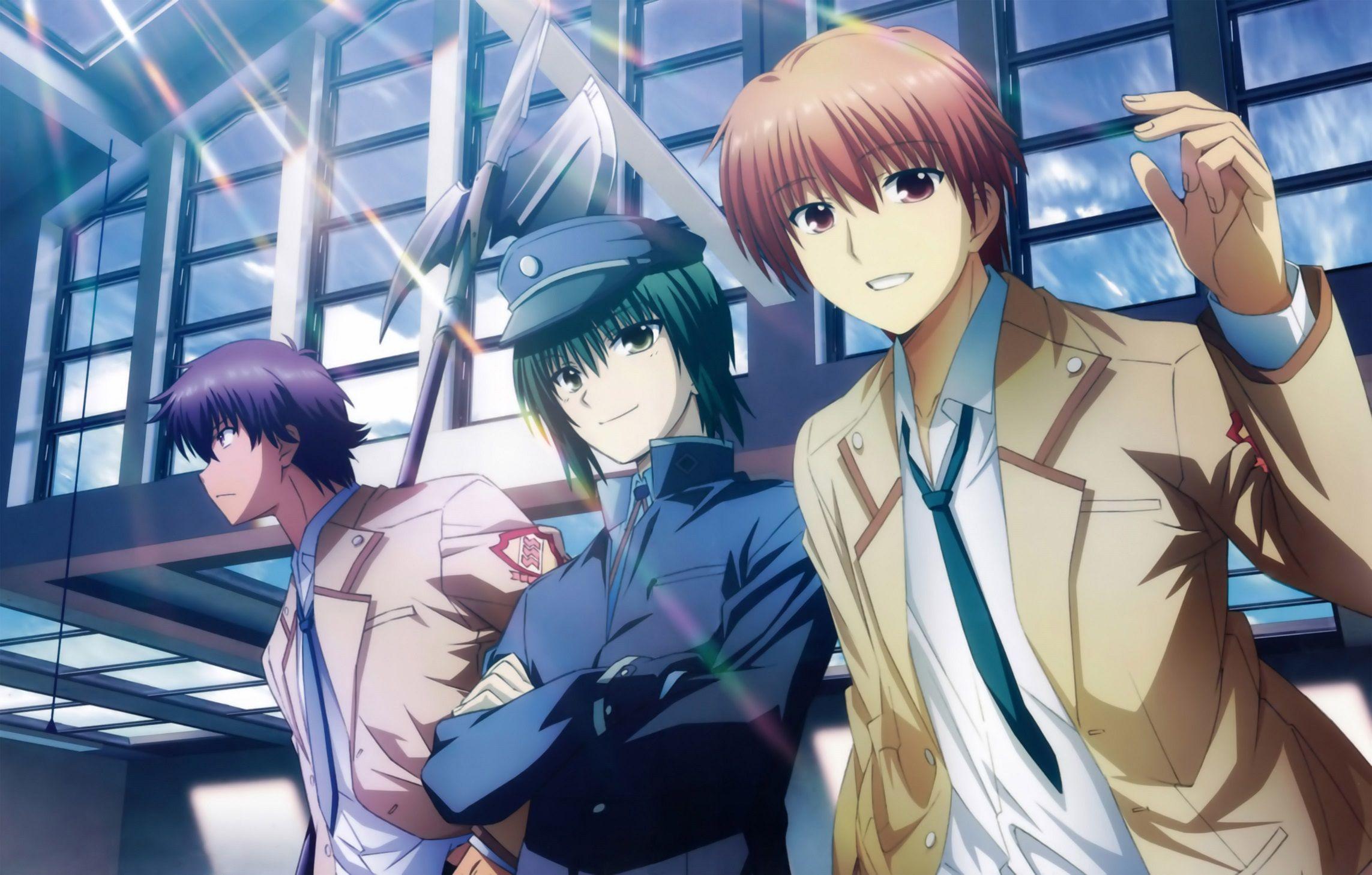 Noda yuzuru otonashi ayato naoi imagem de anime