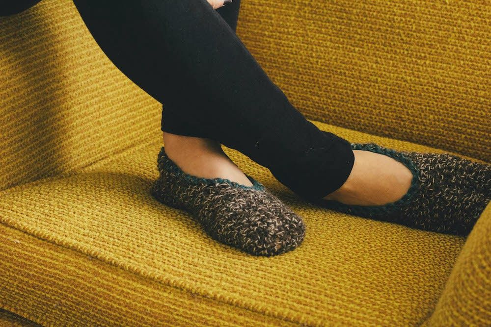Always Rooney: Learn To Crochet: Simple Slippers