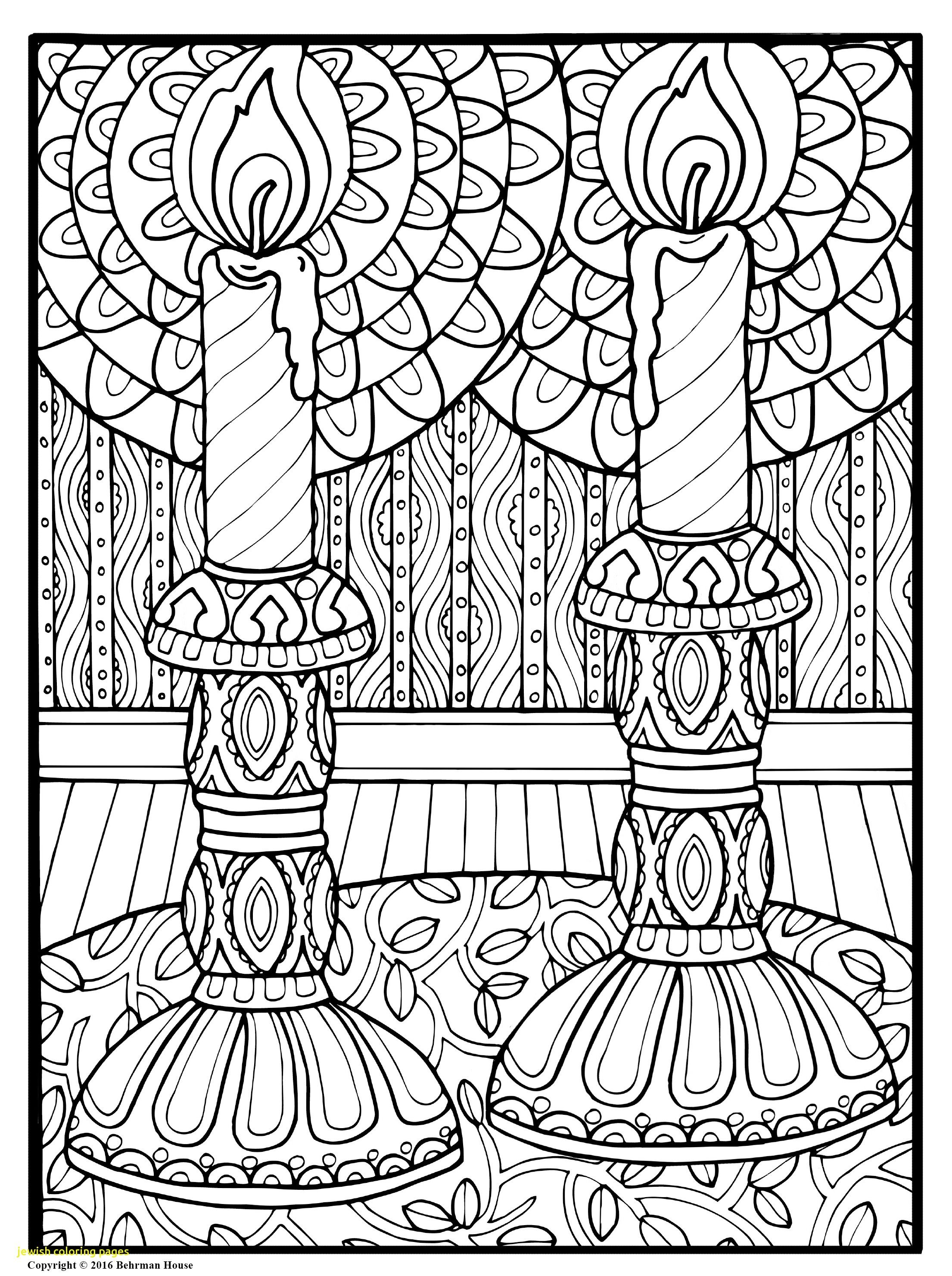 jewish-coloring-pages-with-beautiful-candles-shalom-book ...