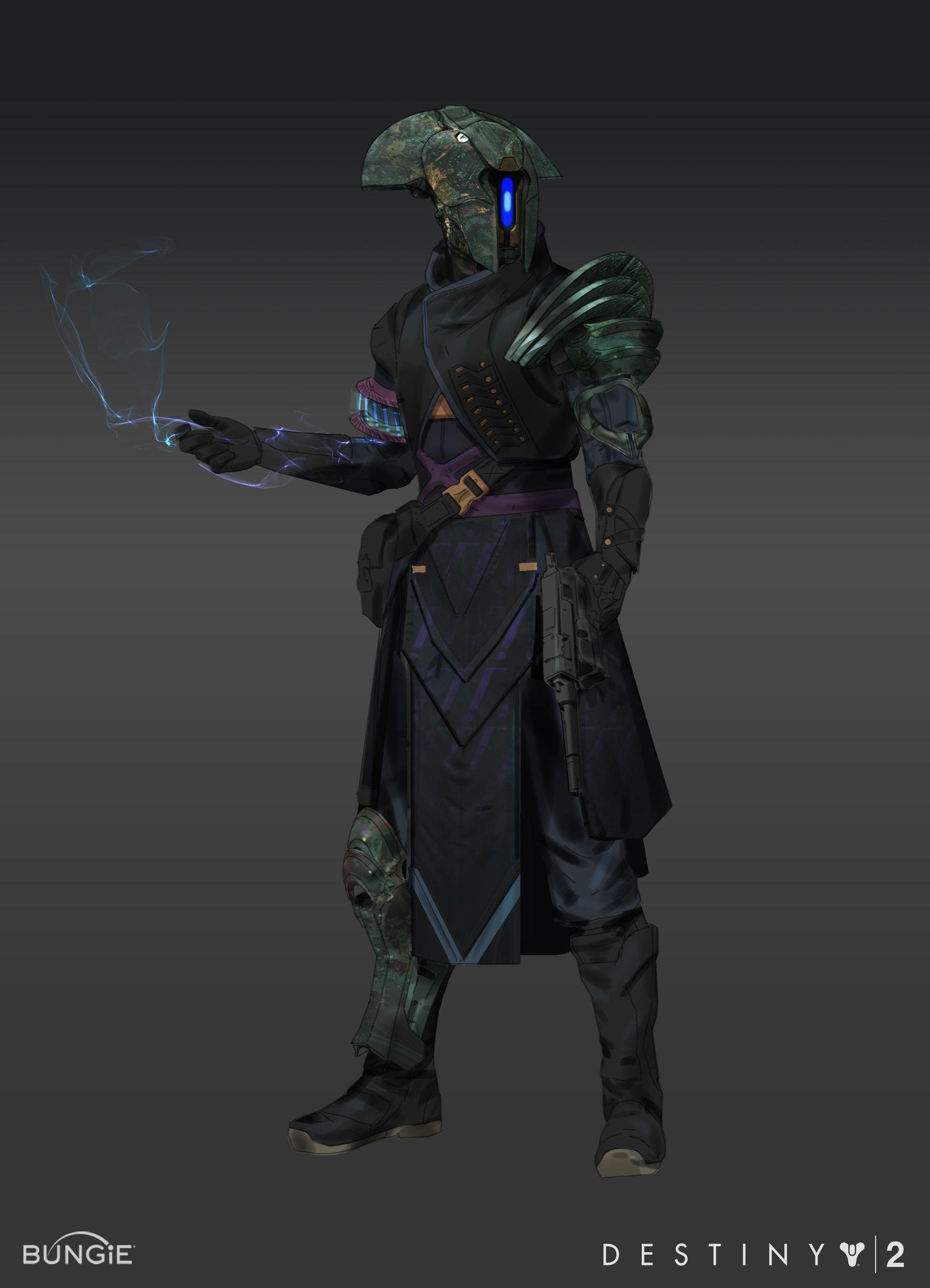 ArtStation - Destiny 2 - Curse of Osiris Armor Sets, Tyler