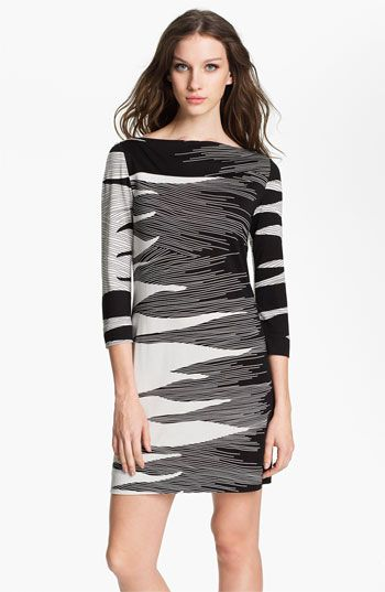 one of my favorites on EVERYONE! Diane von Furstenberg 'Ruri' Silk Shift Dress available at Nordstrom SALE