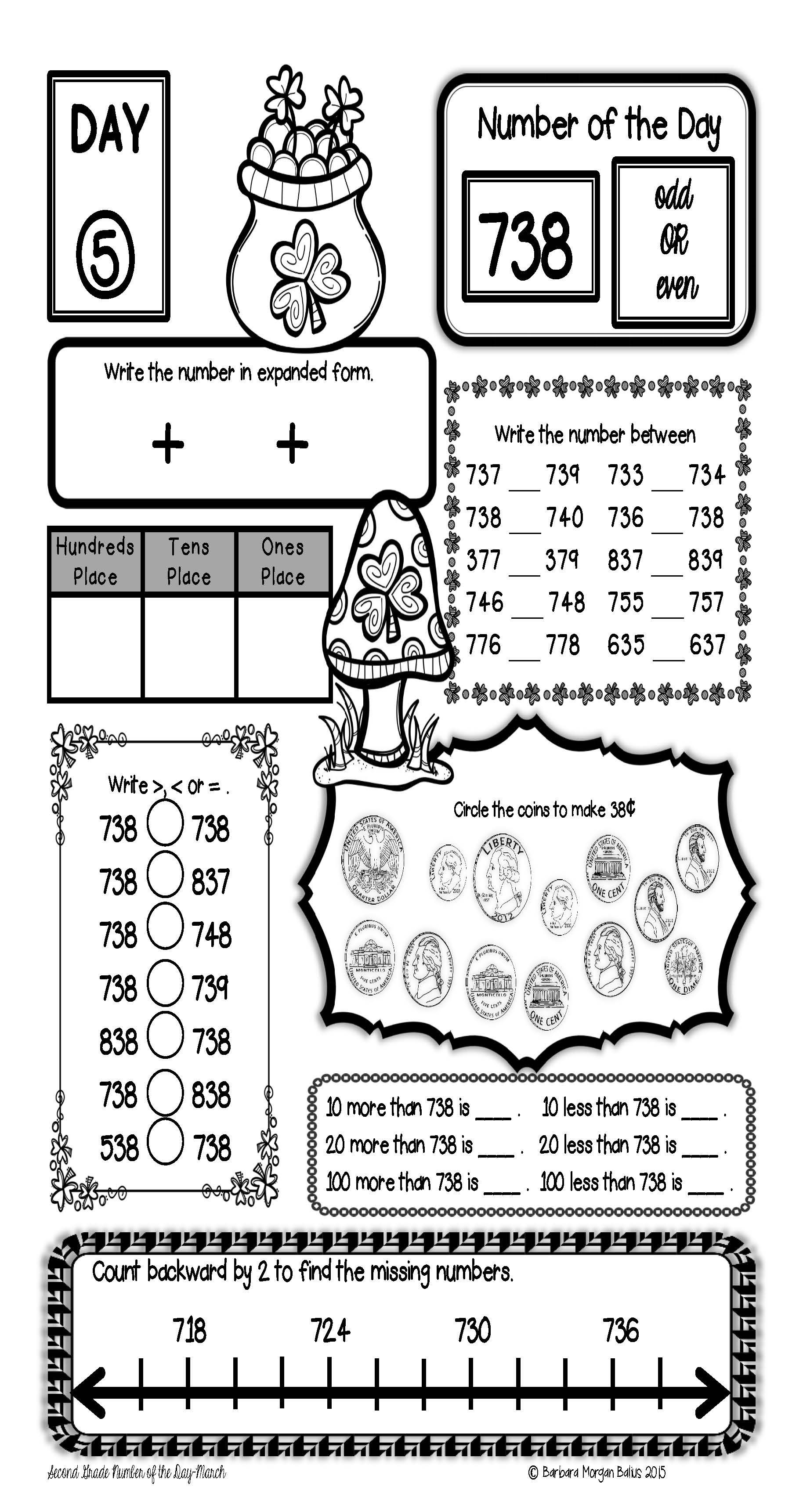 How Do Your Review Number Sense In Second Grade