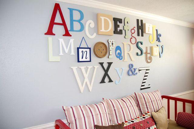 Bonne idée pour décorer la salle de jeu! | Salle de jeux, Idée salle de jeux, Salle de jeux enfants