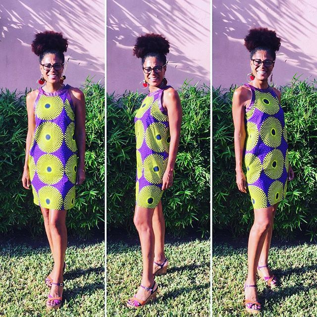 L.E robe en pagne Vlisco #wax #madecotedivoire #vlisco #pagnifik | African fashion, African ...