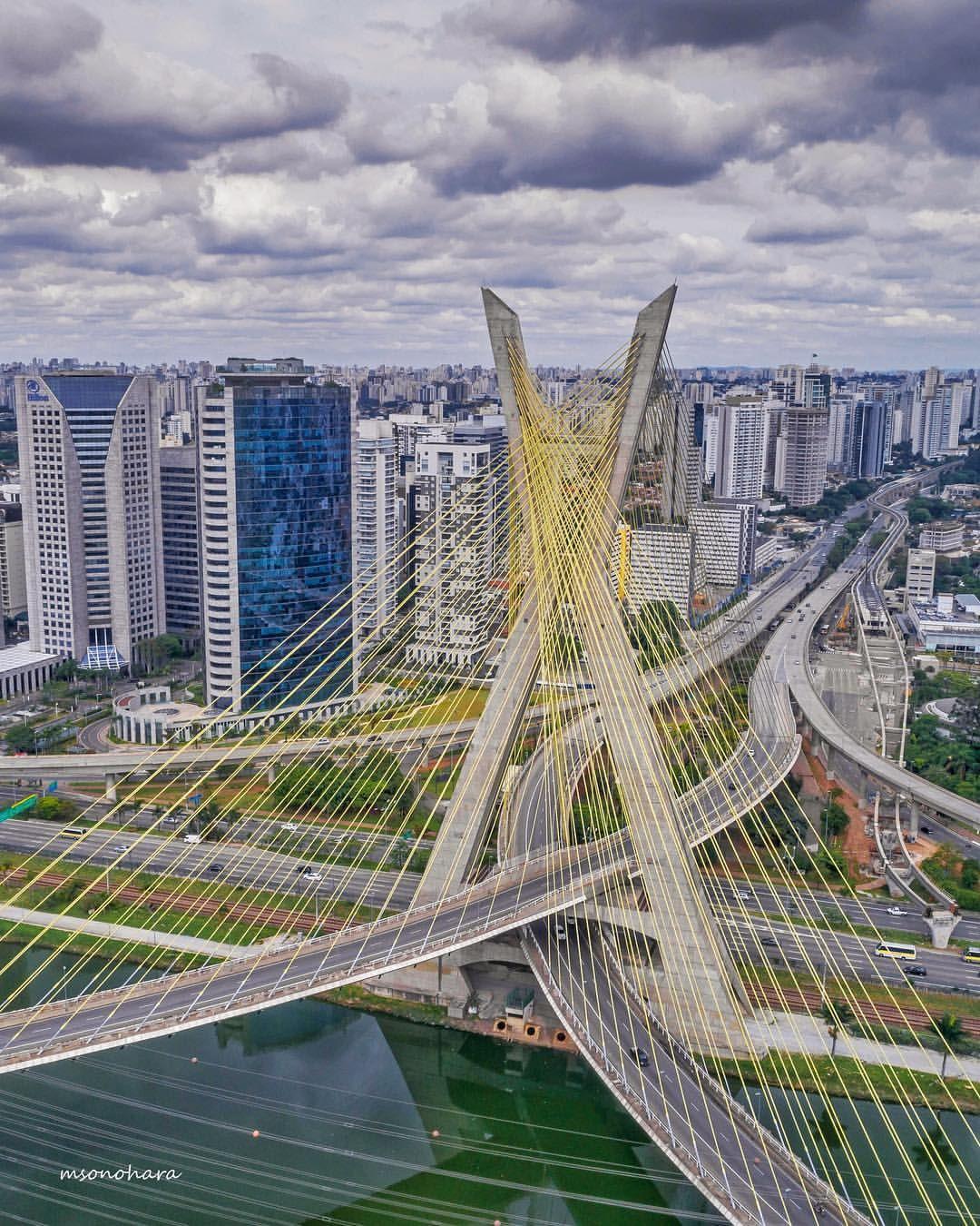 Обои sao paulo, мосты, Бразилия. Города foto 15