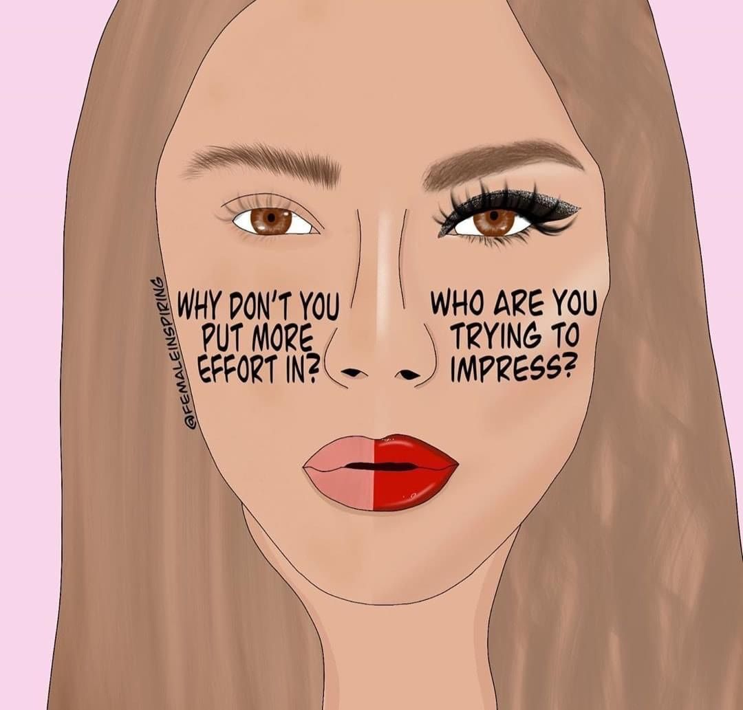 Image about makeup in THINK ABOUT IT by Ɗaωƞ ℱཞoՏt