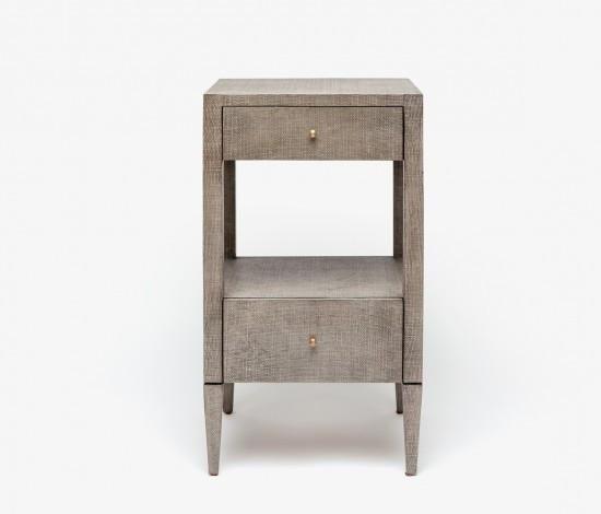 Best Conrad Nightstand Single Gray Small Nightstand Furniture 400 x 300