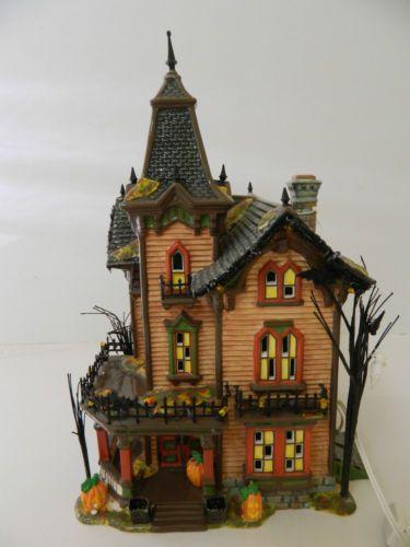 halloween victorian house dept 56