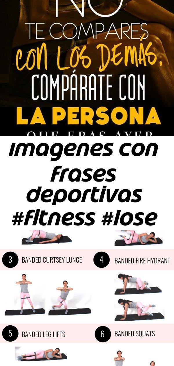 Imagenes con frases Deportivas #fitness #lose weight #phrases #fitnessphrases #Gym #smoothie #fitnes...