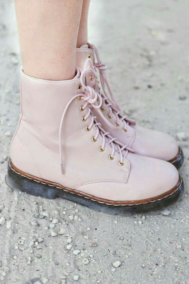 baby pink dr martens boots