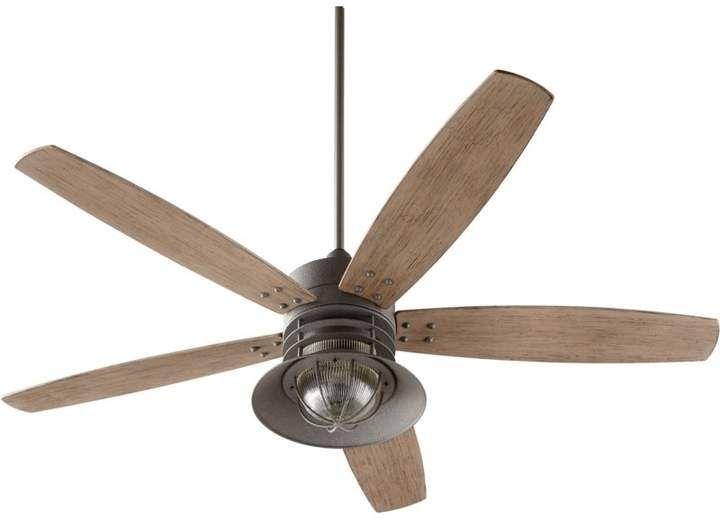 Latitude Run 60 Shela 5 Blade Ceiling Fan Ceiling Fan Outdoor Ceiling Fans Ceiling Fan With Light 60 inch outdoor ceiling fan
