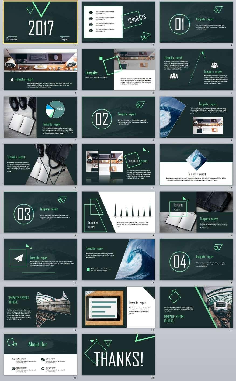 23 Blue Business Slides Powerpoint Templates Powerpoint