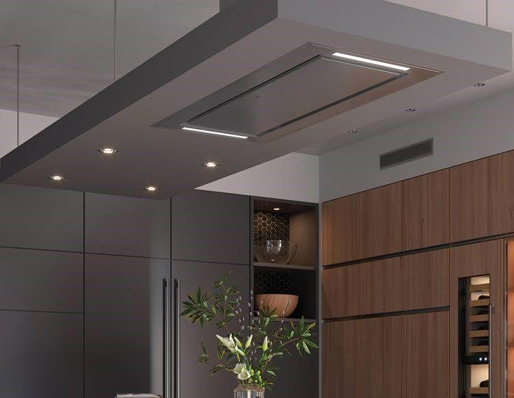 48 Ceiling Mounted Hood Stainless Steel Ventilation Hood