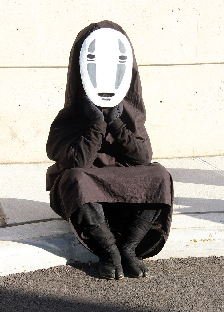 No Face Kaonashi Spirited Away Amazing Cosplay Cosplay Comic Con