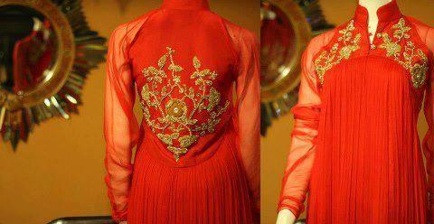 Mehndi Function Dresses : Latest bridle dresses for mehndi function ozyle raj