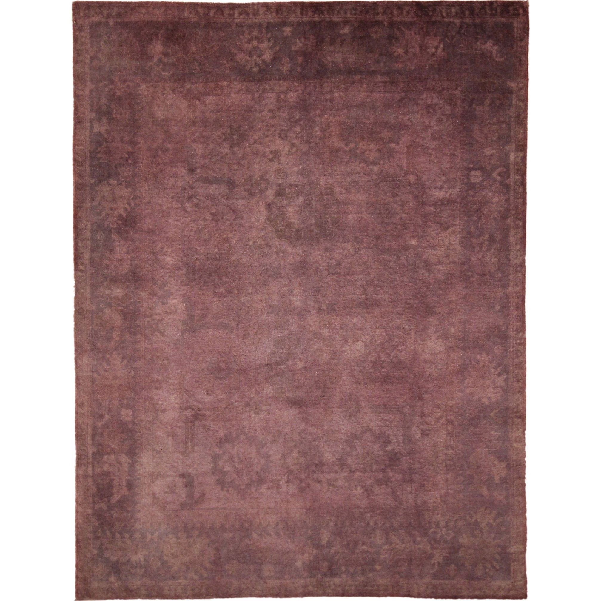 Overdyed Oushak Fahd Hand-knotted Rug