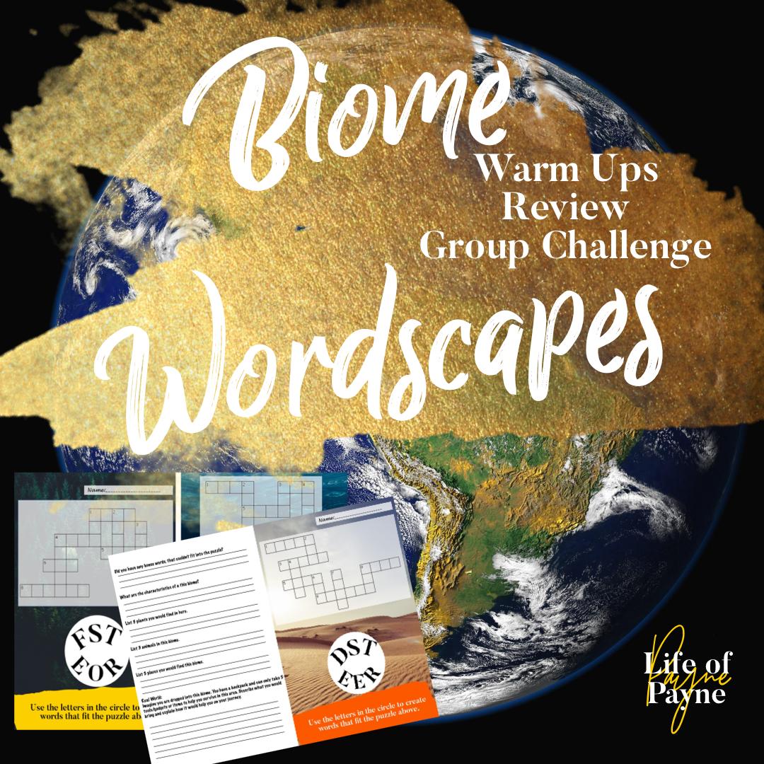 Biome Wordscapes
