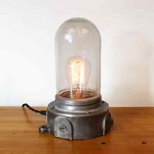 Vintage Industrial Large Explosion Proof Desk Lamp Steampunk Decor Table Light