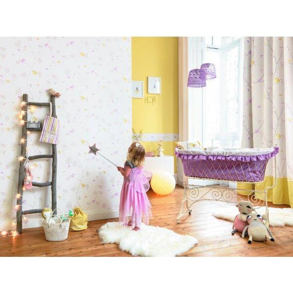 Frise chambre enfant perfect papier peint pour chambre - Frise murale chambre fille ...