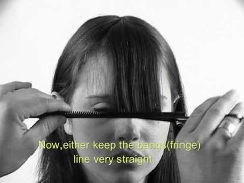 Comment se couper les cheveux soi m me hair - Comment couper une frange soi meme ...