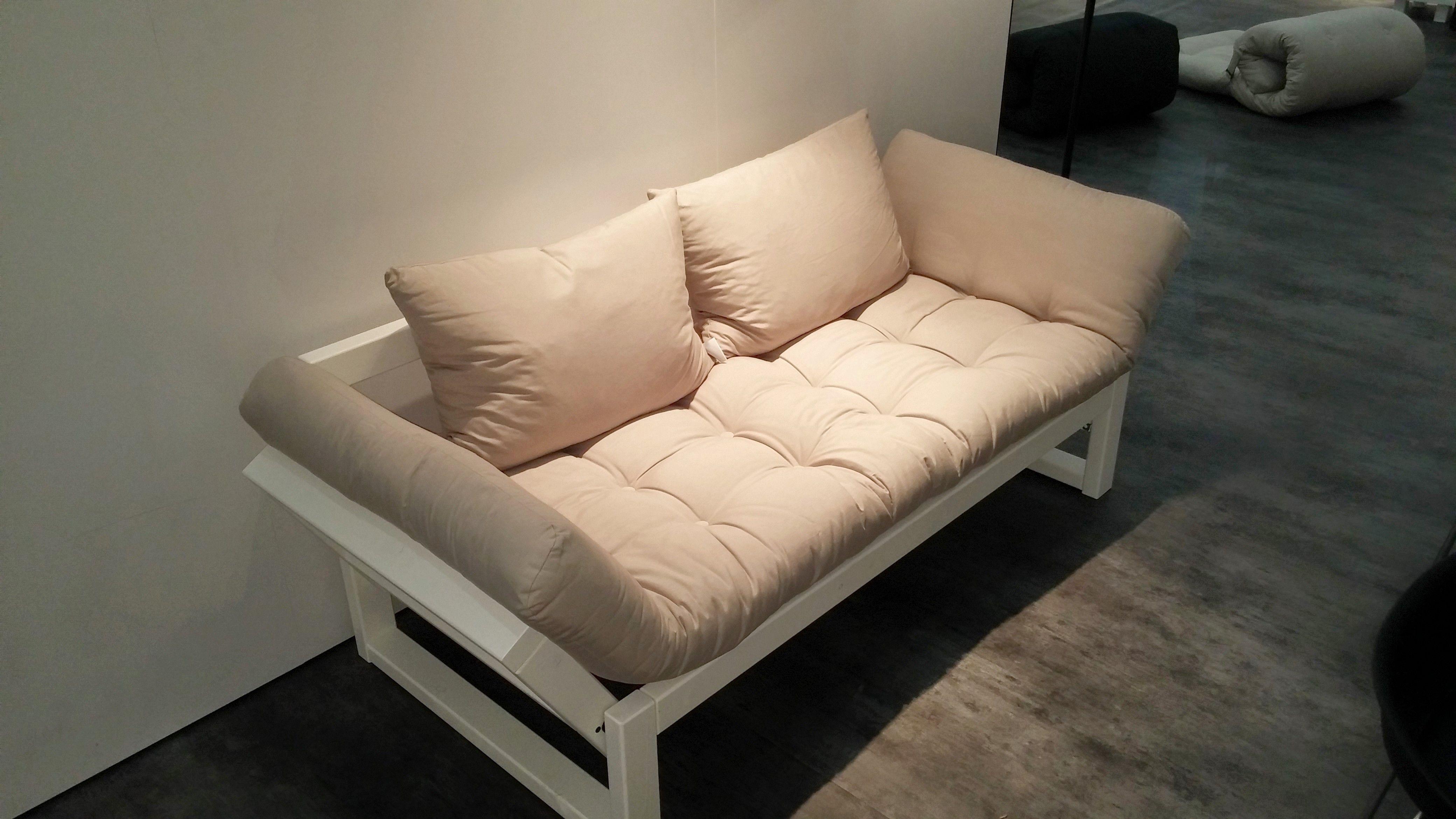 Divano bianco ~ Divano letto futon edge karup in legno bianco letto futon futon