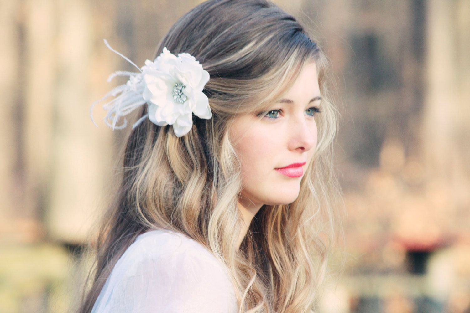80+ spring & summer wedding hairstyles with flowers | short
