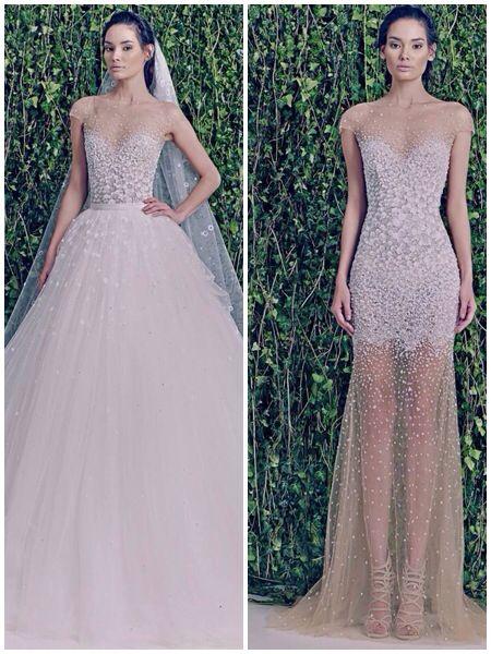 Detachable Wedding Dress More