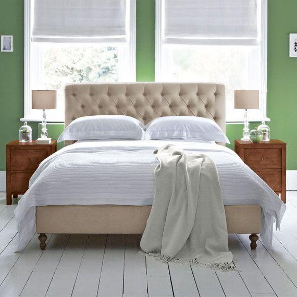 Antoinette Upholstered Bedstead Bespoke Beds Upholstered Beds Bed