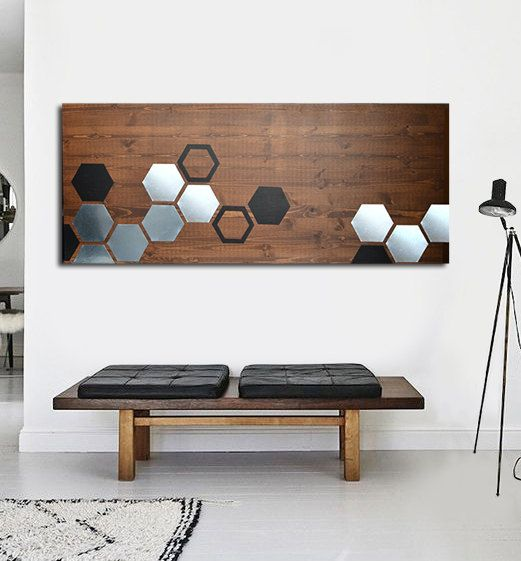 Metal Art Wood Wall Art Geometric Wall Art Modern Wall Art Etsy Wood Wall Art Modern Wall Art Geometric Wall Art
