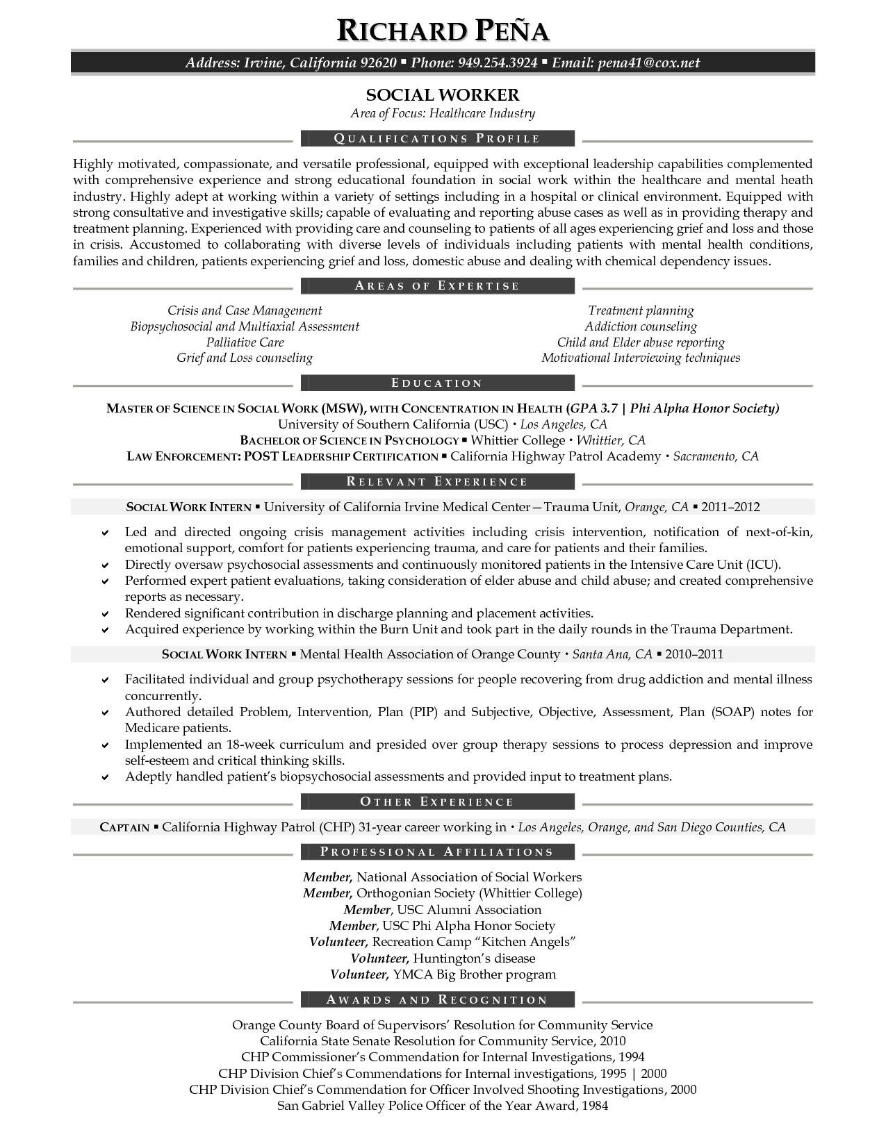 social work resume template  google search  resume tips
