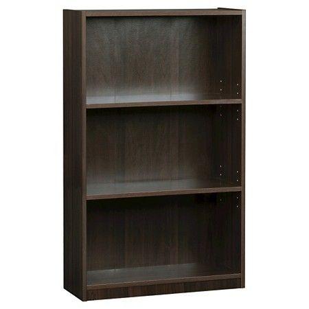 3 Shelf Bookcase Espresso Room Essentials Target 17 99