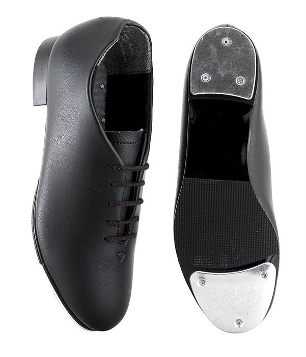 Tap Shoes. Oxford style synthetic upper